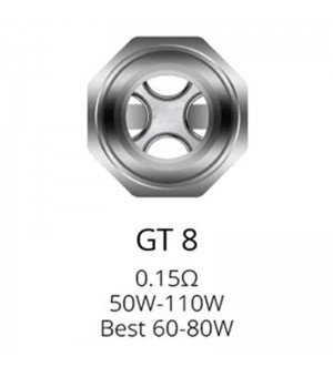 Résistances GT8 pour NRG...